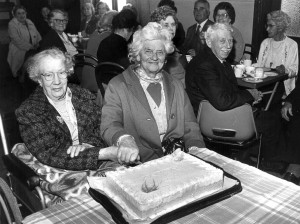 Mrs Howes 90th Birthday at Village Hall