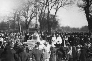 War memorial 1921