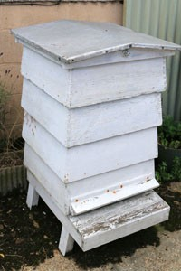 A traditional hive